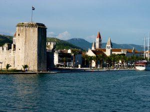 Trogir Fortress Tower Entrance www.njcharters.com