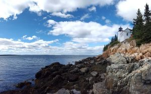Bass Harbor Headlight - Maine Photo Credit Chantal Maxwell