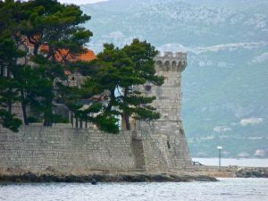 Korcula Island Korcula Town Fortification Tower
