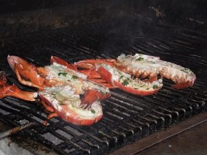 Maine Lobsters Grilling www.njcharters.com
