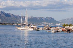Trogir Yacht Quay Croatia