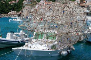 Croatia Komiza Viz Island Lobster Traps www.njcharters.com
