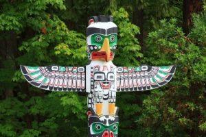 Tlingit Totem Pole Ketchikan Alaska yacht charter