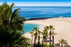 Beach in Cabo San Lucas Mexico on the Sea of Cortez
