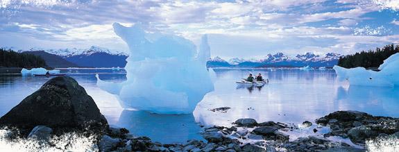 Sea Kayaking In Alaska on Yacht charter