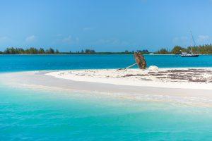 Tropical beach in Cayo Largo, Paraiso beach. Cuba