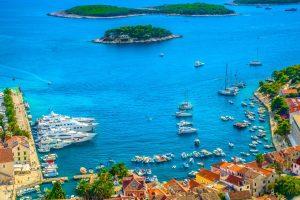 Croatia Hvar Harbor www.njcharters.com