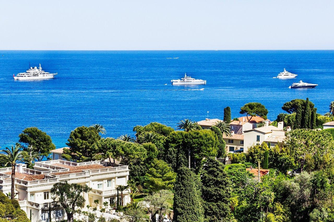 French Riviera Cap Ferrat Luxury Yacht Charter www.njcharters.com