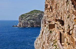 Alghero, Sardinia. Grotto