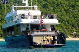 Select the right luxury charter yacht, like the Capricorn , secure the booking and you will be on your way to adventure