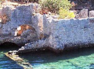 Cleopatra's Baths, Gocek Bay, Turkey