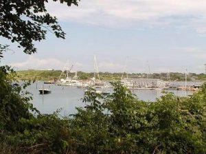 Cuttyhunk, Natural Harbor, New England, luxury yacht charter