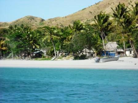 Fiji, Malakati Village. Nacula Island