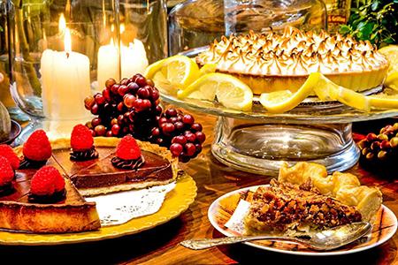 Great On Board Dessert Selection www.njcharters.com