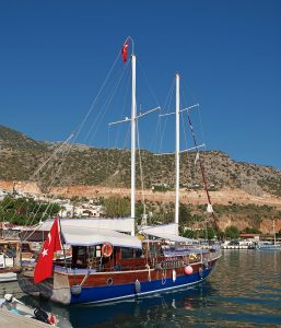 Kalkan, Turkish Gulet, yacht charter, Turkey