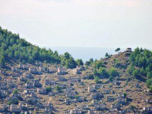 Kayakoy, Greek village , Levassi