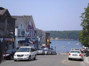Maine, Bar Harbor Streets