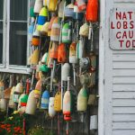 Maine Lobster Pot Buoys www.njcharters.com