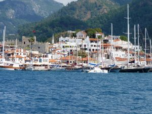 Marmaris old Quay and castle