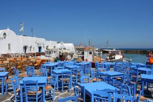 Paros Island, Greece, Naousa
