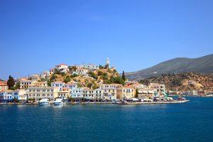 Poros Island, Greece, luxury yacht charter