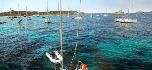 Porquerolles Anchorage, France, Luxury Yacht Charter