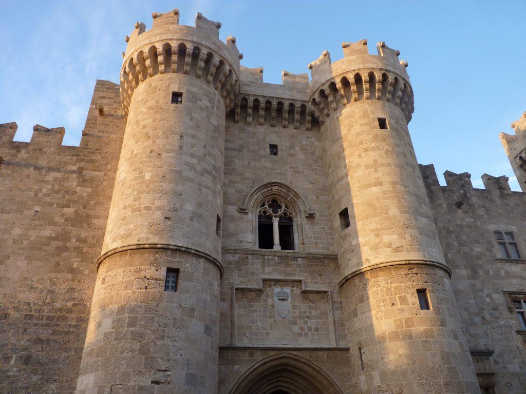 Rhodes Castle, Turkey
