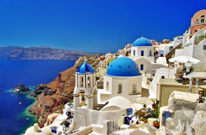 Santorini, Greece, luxury yacht charter
