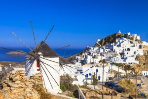 Serifos, Greece, Windmills
