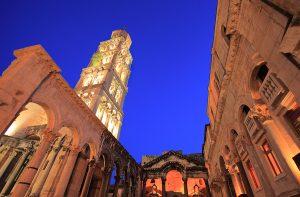 Split, Diocletians palace, Croatia