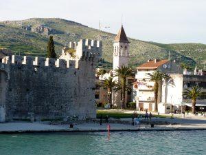 Trogir Fortress Walls, Croatia, yacht charter