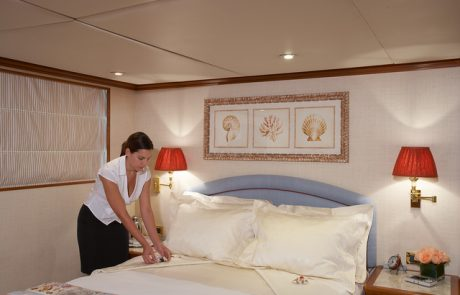 VIP Crew Service on Luxury Yacht Charter www.njcharters.com