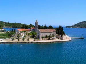 Vis Monastery, Croatia, yacht charter