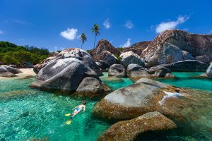 The Baths, Snorkel, Caribbean, Luxury Yacht Chartert