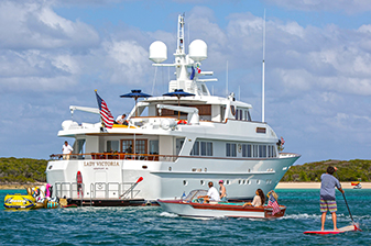 120' Feadship Lady Victoria in Eleuthra, Bahamas