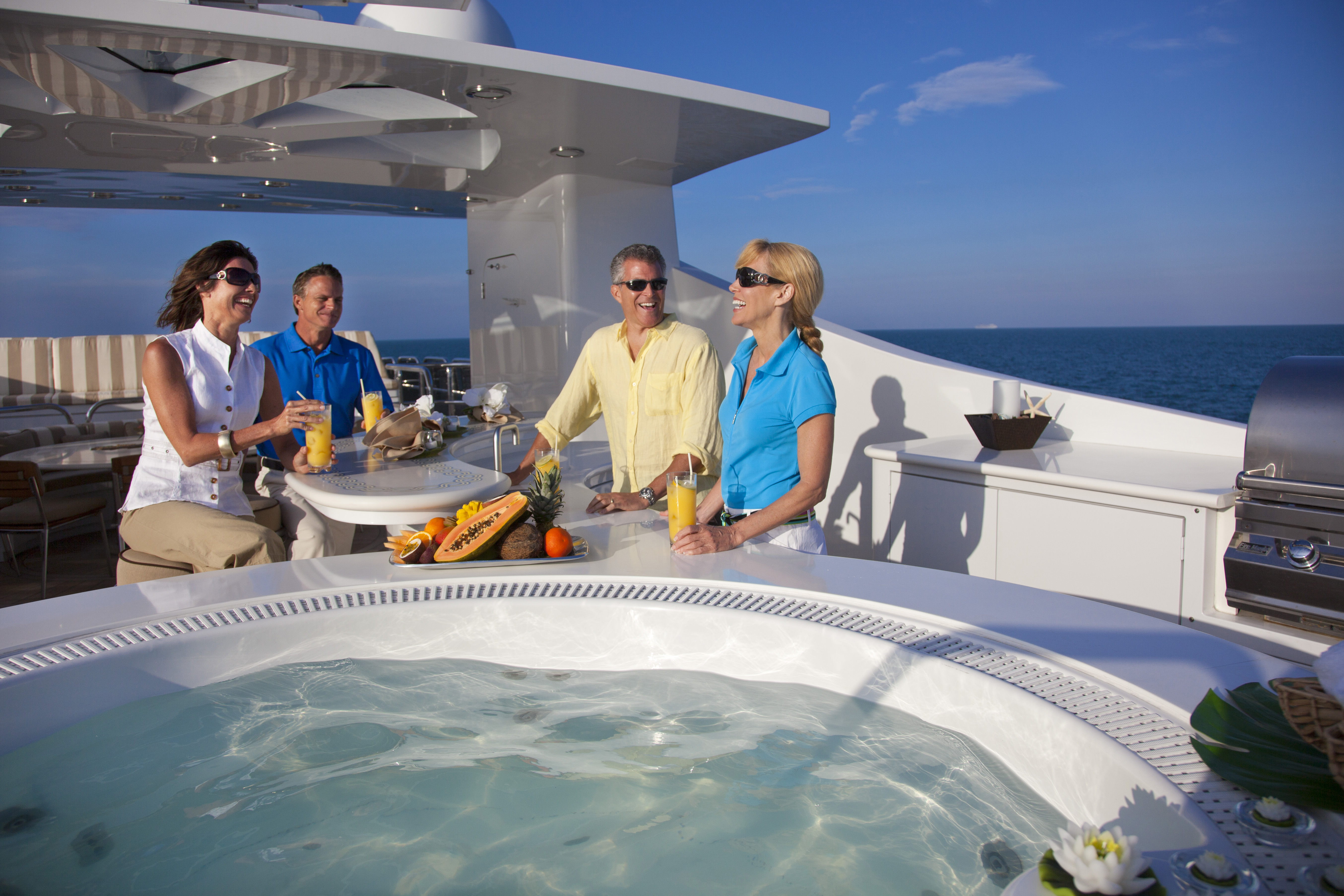 Relax as our luxury yacht crew is there to anticipate your needs while providing the highest standard of service.