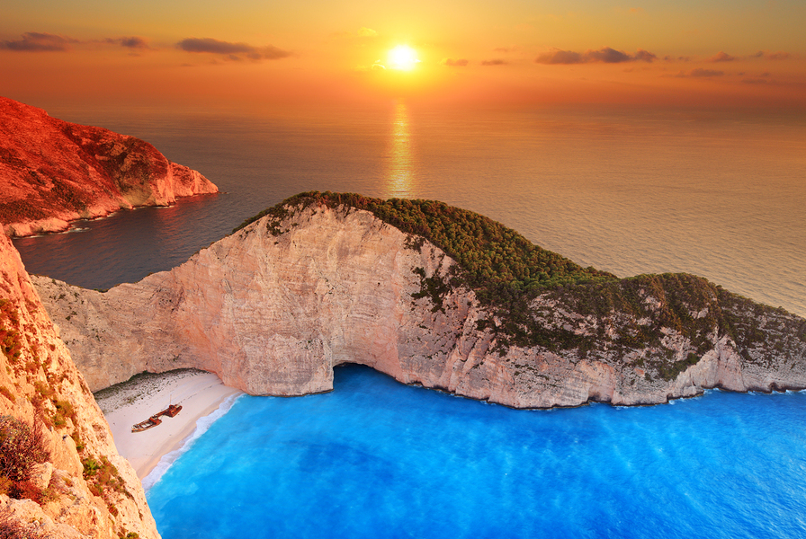 Crewed luxury yacht charters to worldwide destinations like Zakynthos Shipwreck Beach, the Caribbean, Europe, the South Pacific, Pacific Northwest, Alaska, New England, the Bahamas, Florida, Asia, Australia or New Zealand.