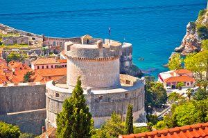 Dubrovnik walls and ramparts, croatia