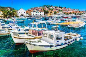 Hvar Island Town, Croatia