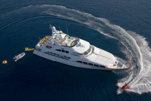 Luxury Motor Yacht & Water Toys for Yacht Charter