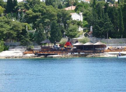 Hvar Town Hula Hula Bar Croatia njcharters.com