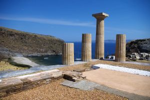 Kea, Island , Temple of Athena