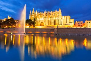Palma de Mallorca Cathedral - Balearic Islands of Spain