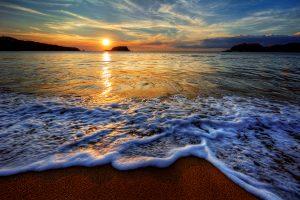 Ocean bay sunrise , Kea, Greece
