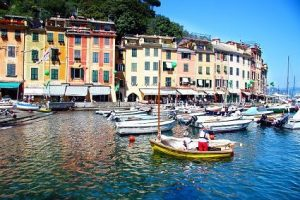 Portofino Village Boats