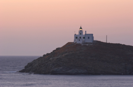 Kea Island Greece Lighthouse njcharters.com