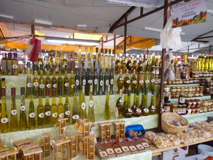 trogir market croatia njcharters.com