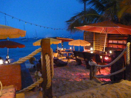 Grand Case Beach Bar and Restaurant Evening
