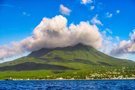 Nevis Volcano Peak