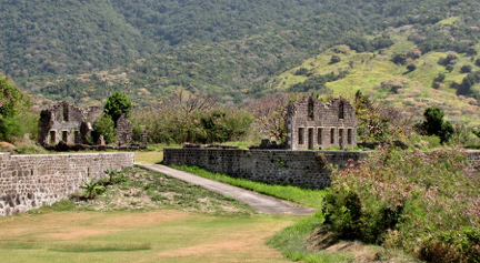 Plantation Ruins on St. Kitts